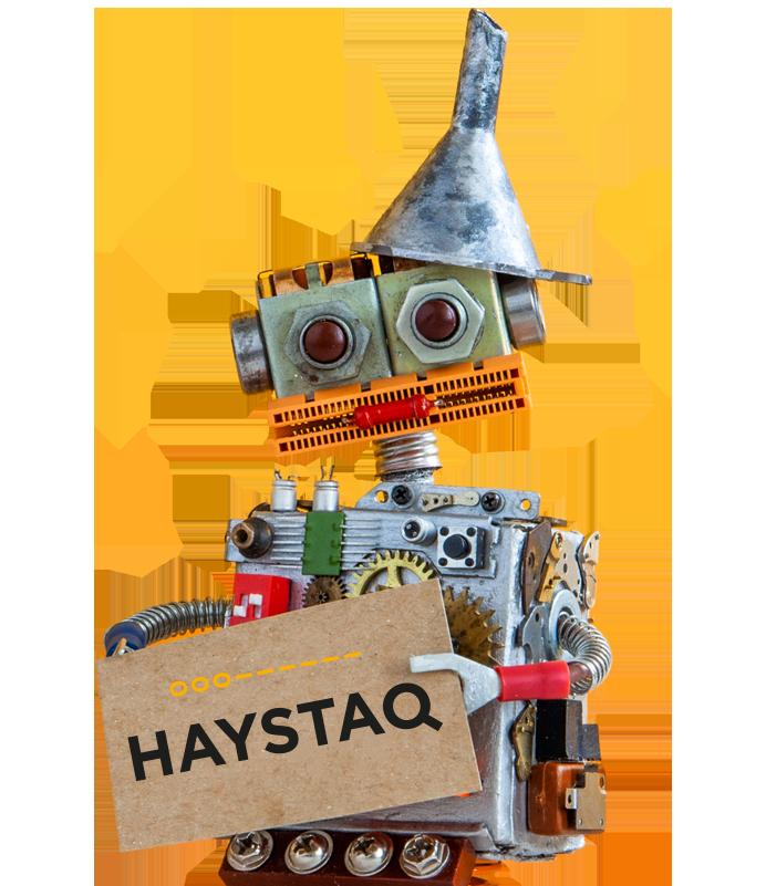 Haystaq Robot Werken bij